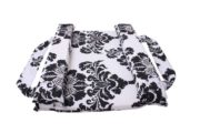 Mitata-co-sleeping-cot--black-white-flower-print